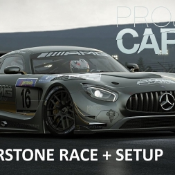 Project CARS Silverstone Mercedes-Benz AMG race + setup