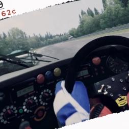 Assetto Corsa Porsche 962c Vs Mazda 787B Real Onboard Cam at Spa