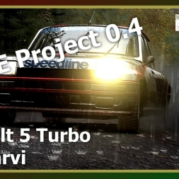 Dirt Rally - RFPE Project 0.4 - Renault 5 Turbo - ON WET FINLAND