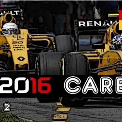 F1 2016 Career - S2R12: Germany - The Brits Crash!