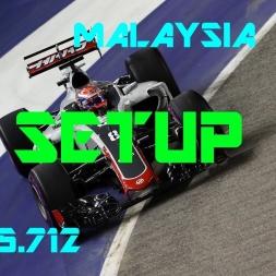 Malaysia GP - Haas F1 Team - Setup (1.35.712) No Assists