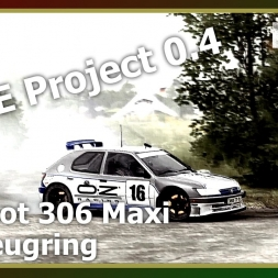Dirt Rally - RFPE Project 0.4 - Peugeout 306 Maxi - ON WET TARMAC