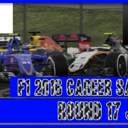 F1 2016 Career Mode Sauber - Round 17 Japan The Rain That Time Forgot