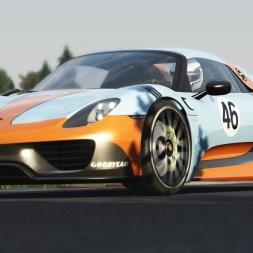 Assetto Corsa | PP 1 | Porsche 918 Spyder @ Circuit de Barcelona-Catalunya (Moto GP Layout)