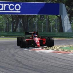 Assetto Corsa: Formula 1 1991 - Jean Alesi Ferrari 643 @ Imola
