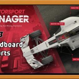 """""""Motorsport Manager Ep. 13 Career: Cardboard Parts"""""""