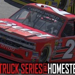 iRacing : Nascar Truck Series @ Homestead