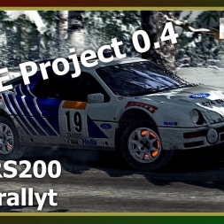 Dirt Rally - RFPE Project 0.4 - Ford RS200 - ON SNOW