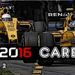 F1 2016 Career - S2R13: Belgium - The New Rain Master