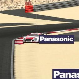Audi R8 rollover | PSRL Endurance Series 2012 | Bahrain