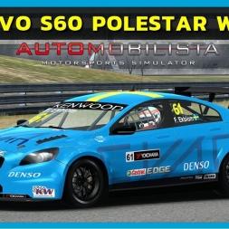 Automobilista - Volvo S60 Polestar WTCC at Jerez (PT-BR)