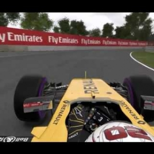 F1 2016 Season Real Crashes Recreated in Game