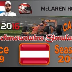 F1 2016 Career Season 3 Austria