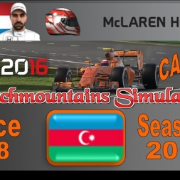 F1 2016 Career Season 3 Baku