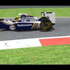 Aida Flying lap 94 williams FW16