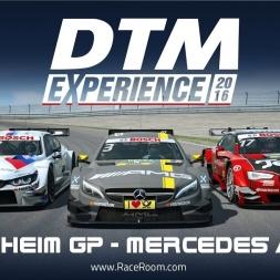 RaceRoom / DTM 2016 / Hockenheim / Mercedes AMG C63