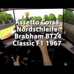 Assetto Corsa - Nordschleife - Mod Brabham BT24 - Classic F1 1967
