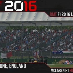 F1 2016 // Ramteam F1 2016 League S1, R10, England [60fps]