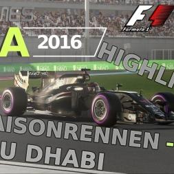 F1 2016 | LIGA 2016 | 2. Saisonrennen | Abu Dhabi [GPGAMES.eu]