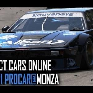 Project Cars ONLINE : BMW M1 Procar @ Monza