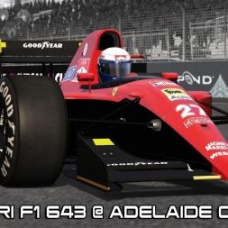 Assetto Corsa Mods - Ferrari F1 643 @ Adelaide Circuit