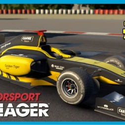 Motorsport Manager 2016 PC Career Mode Part 2 - First Podium! (PT-BR)