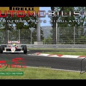 Automobilista   Formula Classic @Imola 1988