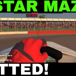 Star Mazda at Silverstone - Gutted