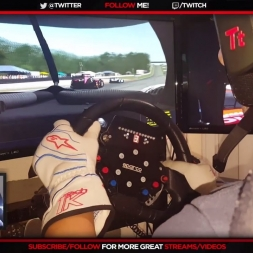 RFACTOR 2 ENDURANCE SERIES  @ ROAD AMERICA -Last lap fight