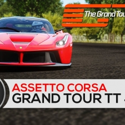 Assetto Corsa - LaFerrari - The Grand Tour Eboladrome Time Trial #2