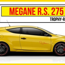 "★ Assetto Corsa - Megane RS 275 ""Trophy R"""