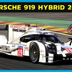 Assetto Corsa - Porsche 919 Hybrid at Spa-Francorchamps (PT-BR)