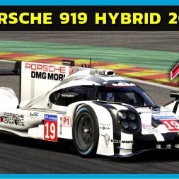 Assetto Corsa - Porsche 919 Hybrid at Spa-Francorchamps (PT-BR)