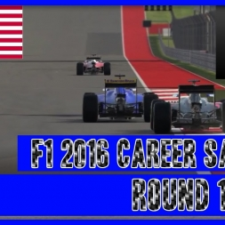 F1 2016 Career Mode Sauber - Round 18 USA Well that went well!
