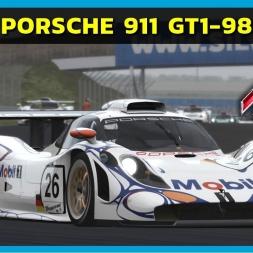 Assetto Corsa - Porsche 911 GT1-98 at Silverstone (PT-BR)