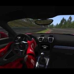 Assetto Corsa - Porsche Pack II - Cayman GT4 OnBoard in Nordschleife