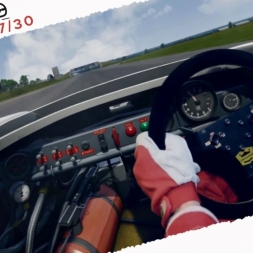 Assetto Corsa Porsche 917/30 Real Onboard Cam Race at Silverstone 1967