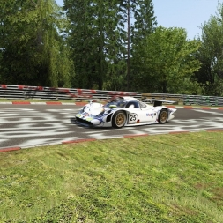 Assetto Corsa; First Try on the Nordschleife with the Porsche 911 GT1
