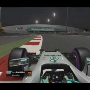 F1 2016 Rosberg Onboard Abu Dhabi