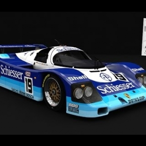 Porsche 962c Short tail at Spa | Assetto Corsa Porsche pack 2 DLC|