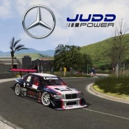 Assetto Corsa :: Mercedes 190 Judd V8 - Monte Erice Hill Climb