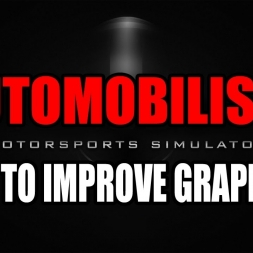 [Automobilista] How to improve graphics? (AA, VSync,..)