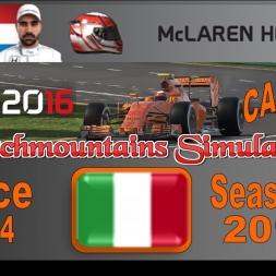F1 2016 Career Season 3 Italy