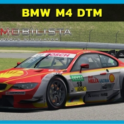 Automobilista - BMW M4 DTM (URD MOD) at Nurburgring (PT-BR)