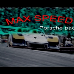 Assetto Corsa - Max. speed test - Porsche pack I & II