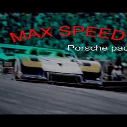 Assetto Corsa - Max. speed test - Porsche pack I & II