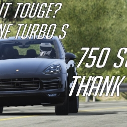 750 subs! Thank you! + Does it Touge? Porsche Cayenne Turbo S @ Akina Downhill | Assetto Corsa
