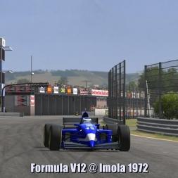Formula V12 @ Imola 1972 - Automobilista 60FPS