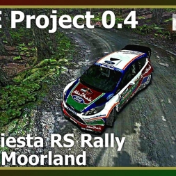 Dirt Rally - RFPE Project 0.4 - Ford Fiesta - Bidno Moorland