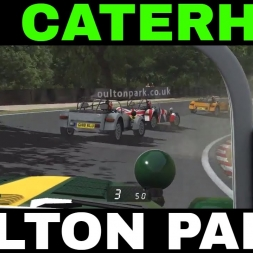 rFactor 2 Caterham 7 at Oulton Park